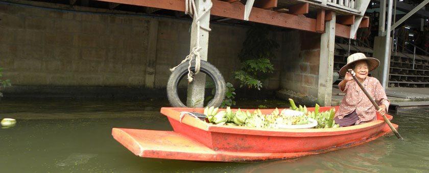 Piata Plutitoare Thailanda