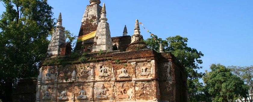 Wat Jed Yot Thailanda