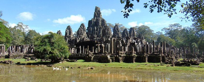 Templul Bayon, Siem Reap, Cambodgia Poza realizata de Stefania Mihalache, noiembrie 2015