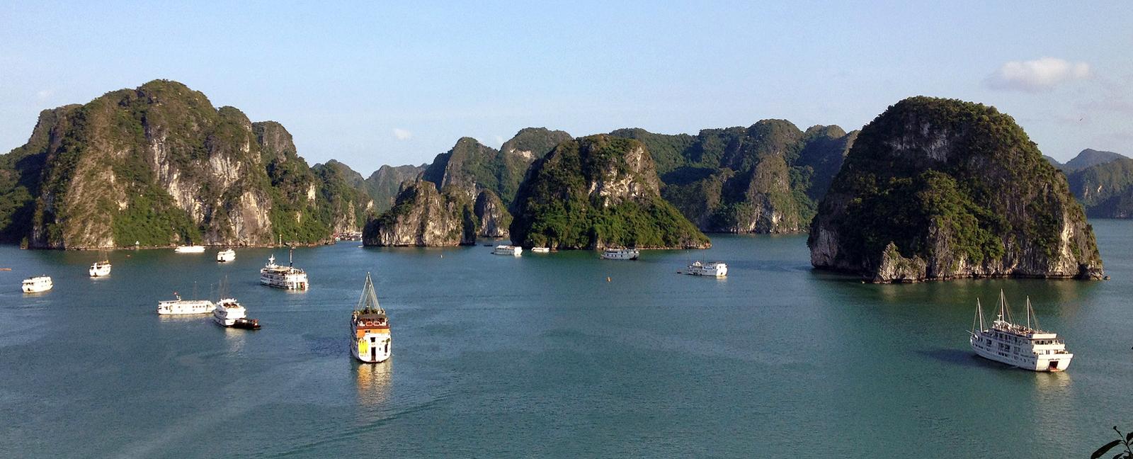 Golful Halong Vietnam