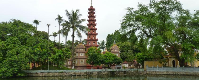 Pagoda Tran Quoc Vietnam