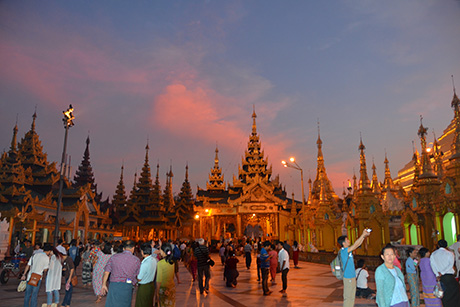 Impresii Revelion Myanmar - decembrie 2015