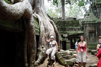 Cambodgia - sanctuarele fermecate ale civilizatiei khmere